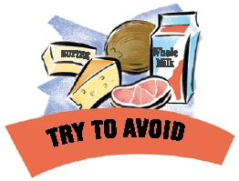 avoid saturated fat