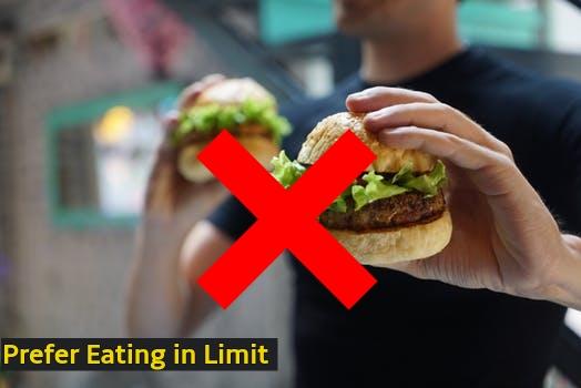Prefer eating in limit