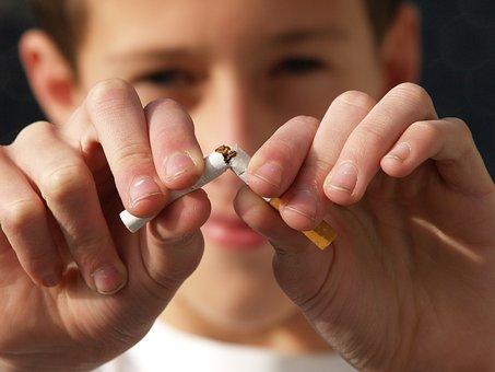 No smoking becuase it causes High Blood Pressure