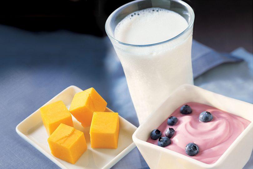Milk, cheese, yogurt