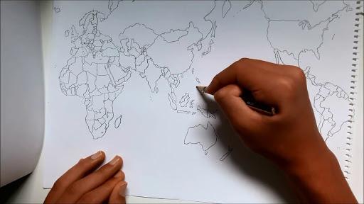draw map