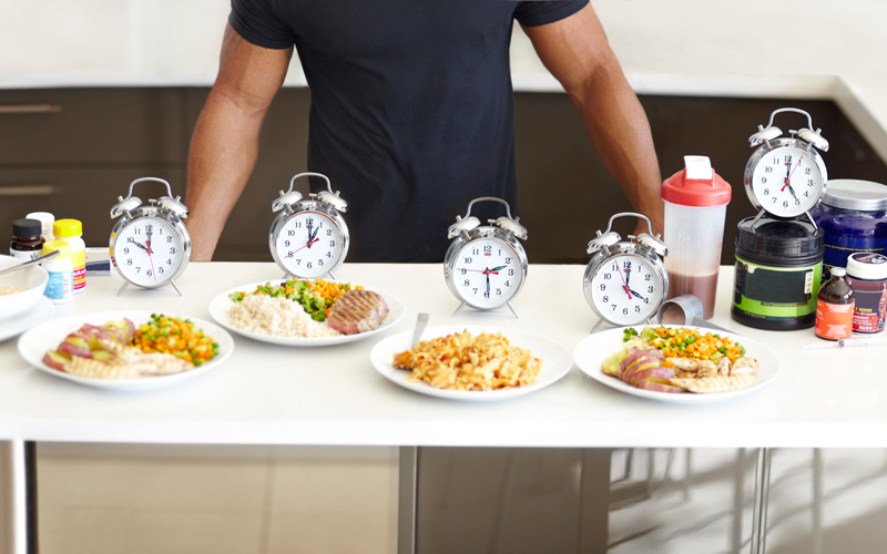 Eat smaller meals frequently