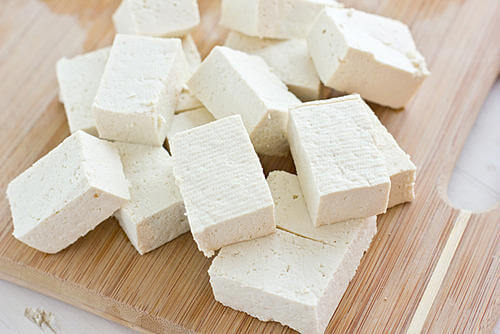 Tofu, Tempeh and Edmame