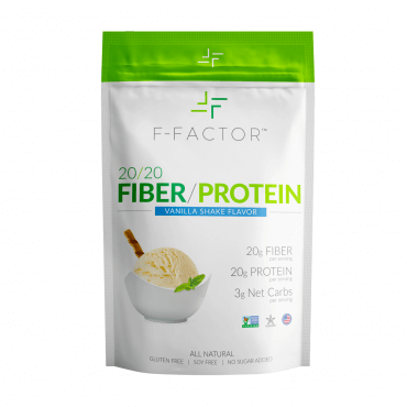 protein fortified fiber