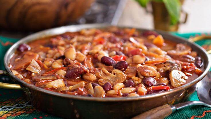 four bean chili-weight watchers recipes